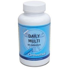 Orthovitaal Daily multi vitamine (60 tabletten)