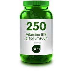 AOV 250 Vitamine B12 & foliumzuur (60 capsules)