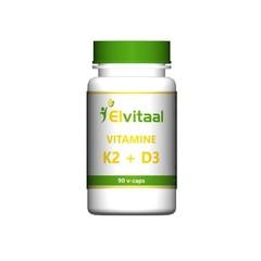 Elvitaal Vitamine K2 & D3 (90 vcaps)