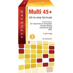 Fytostar Multi 45+ multivitamine (60 tabletten)