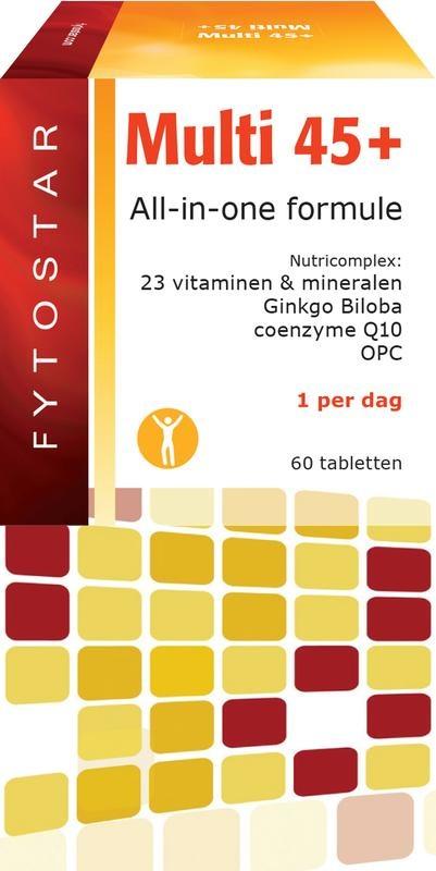 Fytostar Multi 45+ multivitamine (60 tabletten)