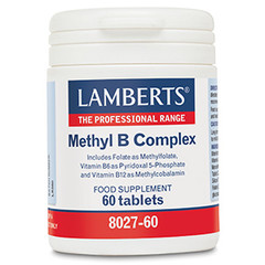 Lamberts Methyl B complex (60 tabletten)