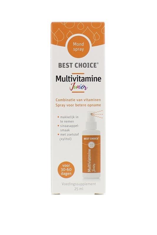 Best Choice Best Choice Vitaminespray multivit junior (25 ml)