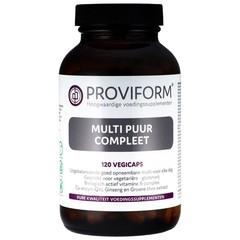 Proviform Multi puur compleet (120 vcaps)