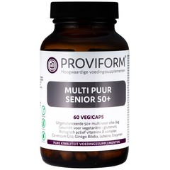 Proviform Multi puur senior 50+ (60 vcaps)