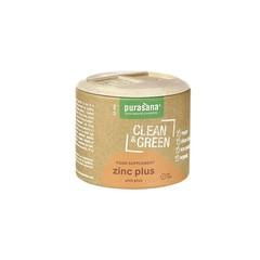 Purasana Clean & green zinc plus (60 tabletten)