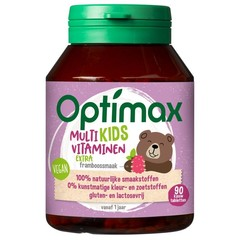 Optimax Kinder multi extra (90 tabletten)