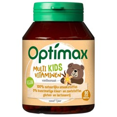 Optimax Kinder multi vanille (90 tabletten)