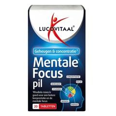 Lucovitaal Mentale focus pil (20 tabletten)