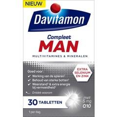 Davitamon Compleet man (30 tabletten)