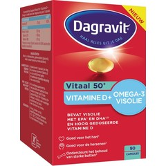 Dagravit Vitaal 50+ omega/vitamine D (90 capsules)