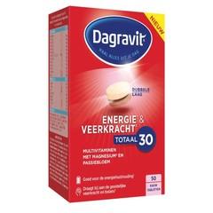 Dagravit Totaal 30 veerkracht & vitaliteit (50 tabletten)