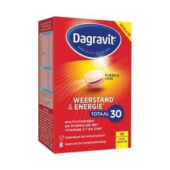 Dagravit Totaal 30 weerstand & energie (50 tabletten)
