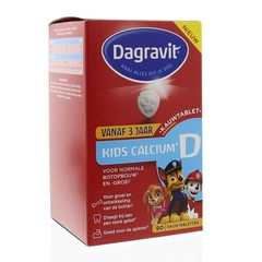 Dagravit Kids calcium & vitamine D (90 tabletten)