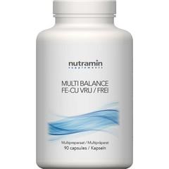 Nutramin NTM Multi balance Z Fe/Cu (90 capsules)