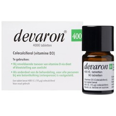 Devaron 400IE (90 tabletten)