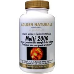 Golden Naturals Multi 2000 (30 tabletten)