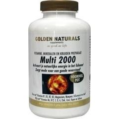 Golden Naturals Multi 2000 (180 tabletten)