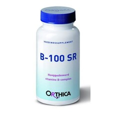 Orthica Vitamine B 100 SR (60 tabletten)