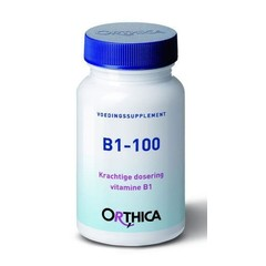 Orthica Vitamine B1 100 (90 tabletten)