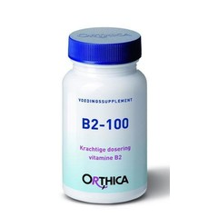 Orthica Vitamine B2 100 (90 tabletten)
