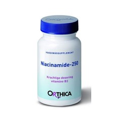 Orthica Vitamine B3 niacinamide 250 (90 tabletten)