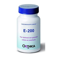 Orthica Vitamine E 200 (90 softgels)