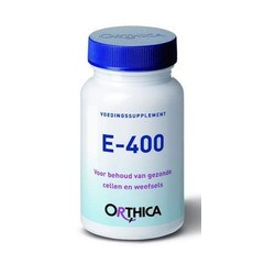 Orthica Vitamine E 400 (60 softgels)