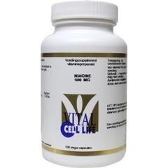 Vital Cell Life Vitamine B3 niacine 500 mg (100 capsules)