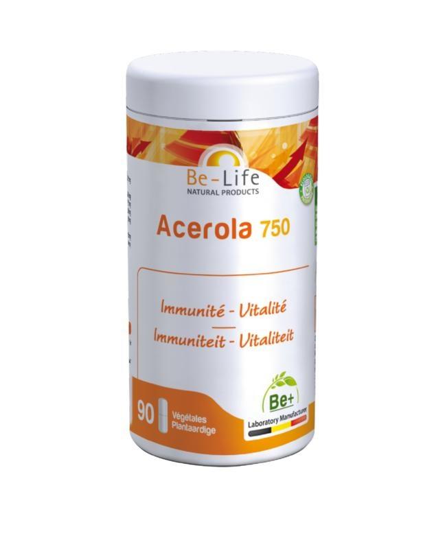 Be-Life Acerola 750 bio (90 softgels)