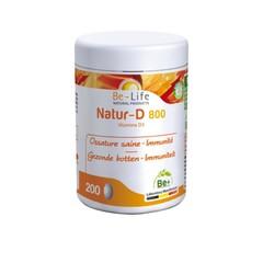 Be-Life Natur-D 800 (200 capsules)