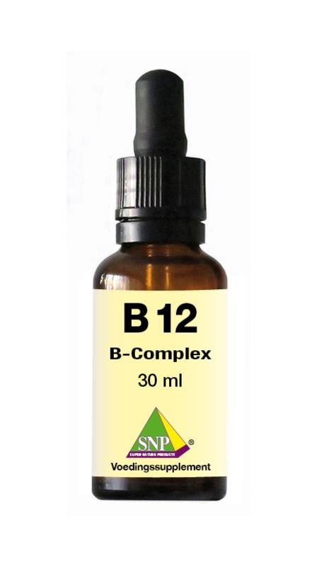 SNP SNP B12 B-complex fluid sublinguaal (30 ml)