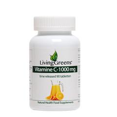 Livinggreens Vitamine C 1000 mg TR (90 tabletten)