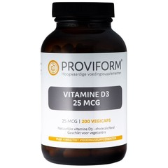 Proviform Vitamine D3 25 mcg (200 vcaps)