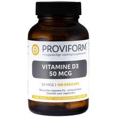 Proviform Vitamine D3 50 mcg (100 vcaps)