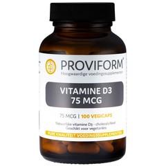Proviform Vitamine D3 75 mcg (100 vcaps)