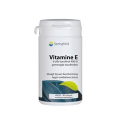 Springfield Vitamine E 400IE (90 softgels)