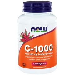 NOW Vitamine C 1000 mg bioflavonoiden (100 vcaps)