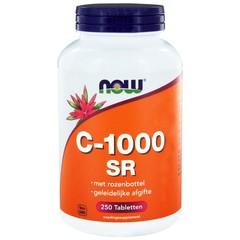 NOW C-1000 Sustained Release met rozenbottel (250 tabletten)
