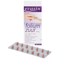 Evasin Foliumzuur (28 capsules)