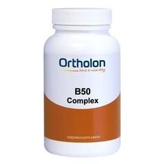 Ortholon Vitamine B50 complex (120 vcaps)
