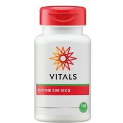 Vitals Biotine 500 mcg (100 capsules)