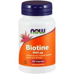 NOW Biotine 1000 mcg (100 vega capsules)