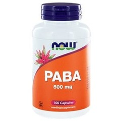 NOW PABA 500 mg (100 capsules)