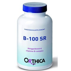 Orthica Vitamine B 100 SR (120 tabletten)
