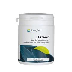 Springfield Ester-C 600 mg met bioflavonoiden (180 vcaps)