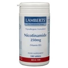 Lamberts Vitamine B3 250 mg (nicotinamide) (100 tabletten)