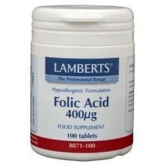Lamberts Vitamine B11 400 mcg (foliumzuur) (100 tabletten)