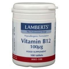Lamberts Vitamine B12 100 mcg (100 tabletten)