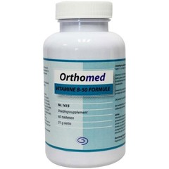 Orthomed Vitamine B50 formule (60 tabletten)